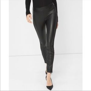 NWT White House Black Market Vegan leather legging